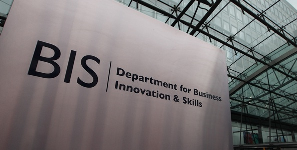Sign made for BIS Government by www. e-signs.co.uk