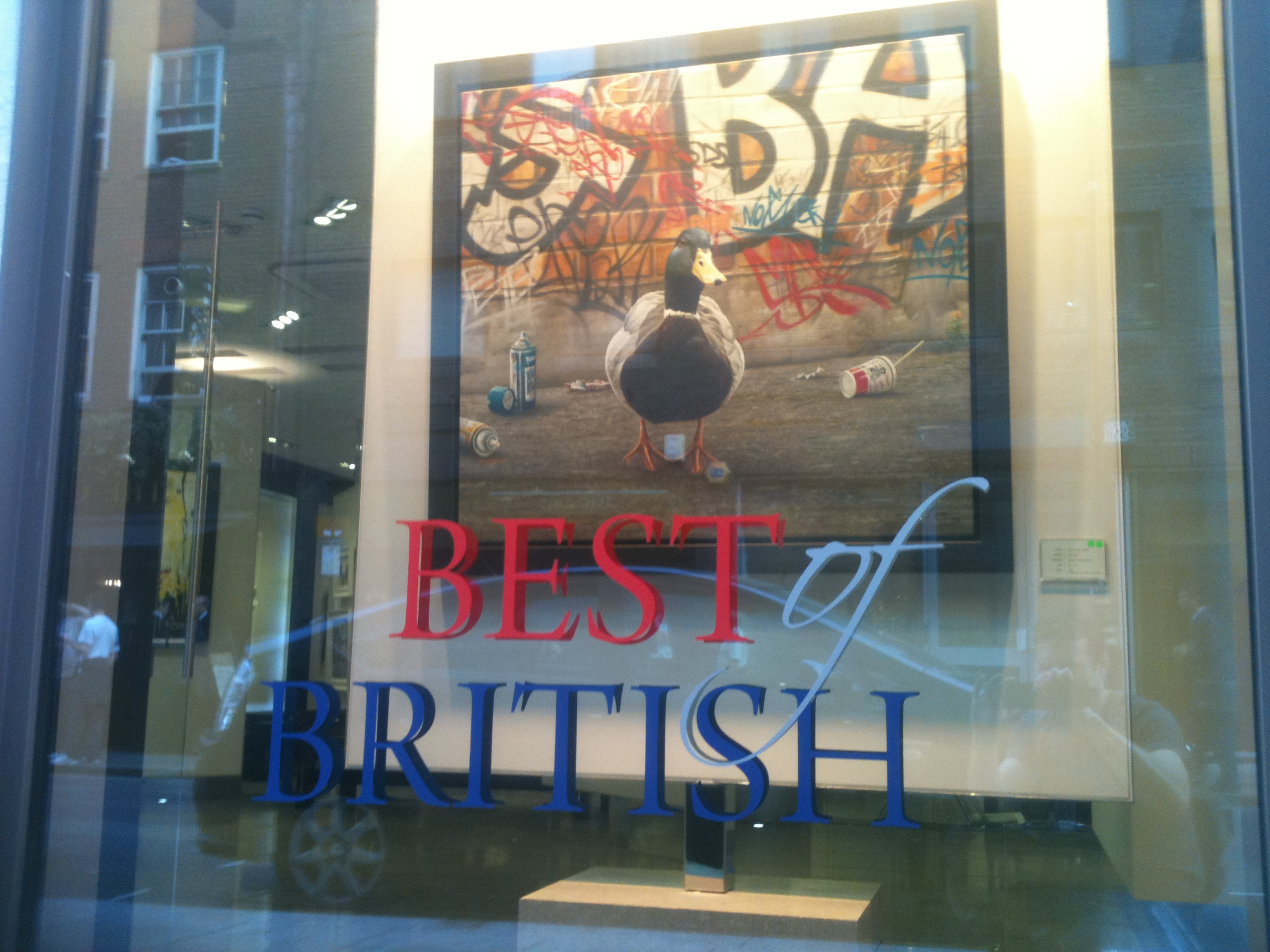 soho square signs E Signs® www.e-signs.co.uk sign art perspex art installations vinyl for art gallery windows