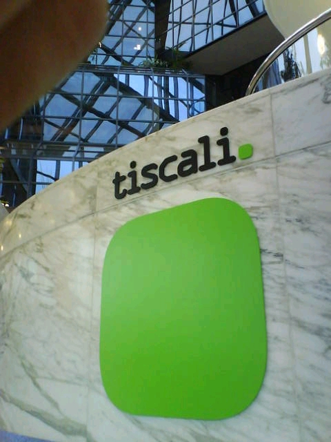 Tiscali Signs made in Foamex & perspex on locators in Stevenage www.e-signs.co.uk