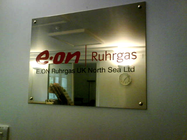 Internal Signs Illuminated Fascia eon main plaque E Signs ® www.e-signs.co.uk